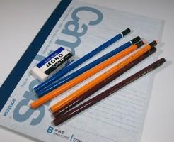試験道具 筆記用具